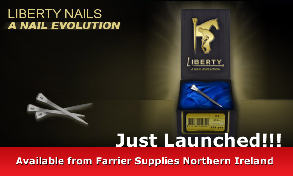 Liberty Nails - Available from Farrier Supplies Northern Ireland